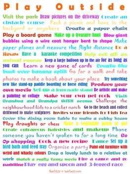 Play Outside Poster