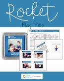 Play Pics - Functional Play with a Rocket