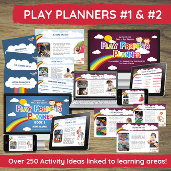 Play Planner Activity & Planning Bundle for PreK, Daycare, Childcare, Preschool