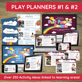 Play Planner Activity & Planning Bundle for PreK, Daycare,