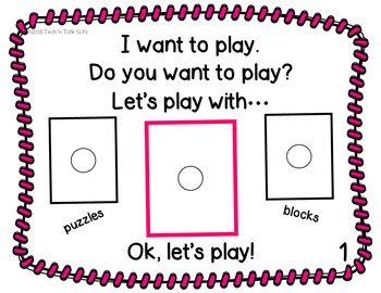Play! Play! Play!    Interactive Core Vocabulary Book