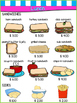 Play Restaurant Menu- For use in your classroom kitchen! g