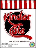 Play Restaurant Menu- For use in your classroom kitchen! r