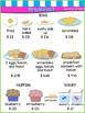 "Play Restaurant Menu - Green/Pink/Blue - ""Edited Version ("