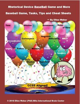 Play Rhetorical Device Baseball Game - Learn through Fun!
