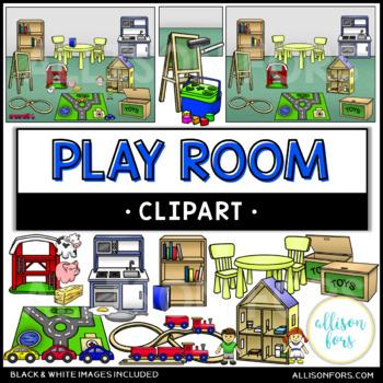Play Room Clip Art