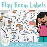 Play Room Labels