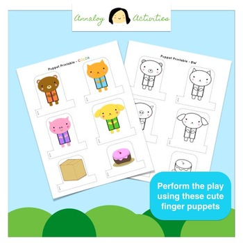 Play Script for Young Readers (Fun with Sight Words and Finger Puppets!)