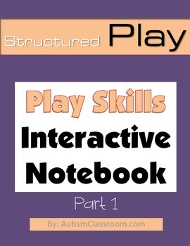 Special Education & Autism Interactive Notebook – Play Skills (Part 1)