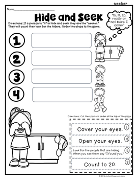 Play Skills Printables for Students with Autism SAMPLER