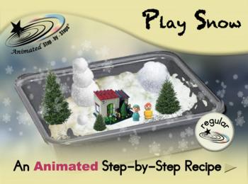 Play Snow - Animated Step-by-Step Recipe - Regular