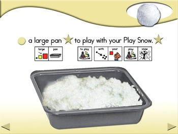 Play Snow - Animated Step-by-Step Recipe - PCS