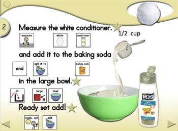 Play Snow - Animated Step-by-Step Recipe - SymbolStix