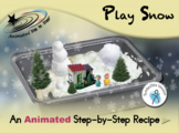Play Snow - Animated Step-by-Step Recipe - SymbolStix