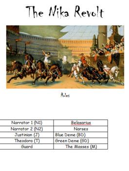 Play: The Nika Revolt of the Byzantine Empire