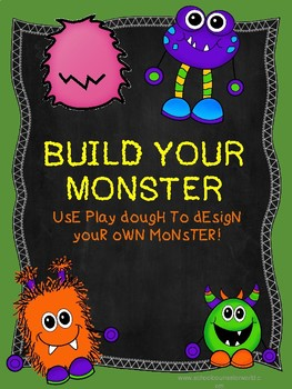Play Therapy, Build Your Own Playdough Monster