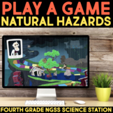 Play Video Games about Natural Hazards -  Fourth Grade Science Stations