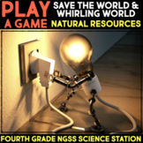 Play Video Games about Natural Resources -  Fourth Grade Science Stations