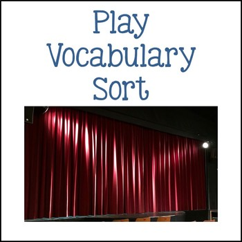 Play Vocabulary Sort
