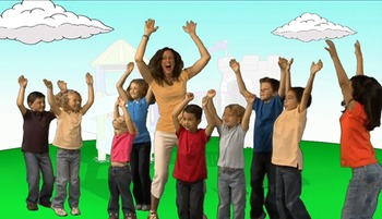 Play With Me, Sing Along! Gross Motor Skills Song