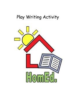 Play Writing Activity