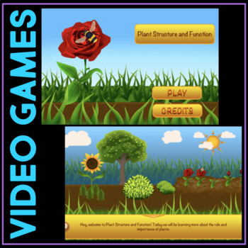 Play a Video Game Structure & Function - Muscles & Skeleton / Plant Reproduction