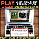 Play a Video Game Structure & Function - Muscles / Plant Reproduction