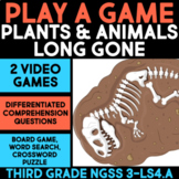 Play a Video Game about Making Fossils - Plants & Animals Long Gone