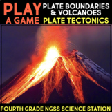 Play a Video Game about Maps and Volcanoes -  Fourth Grade Science Stations