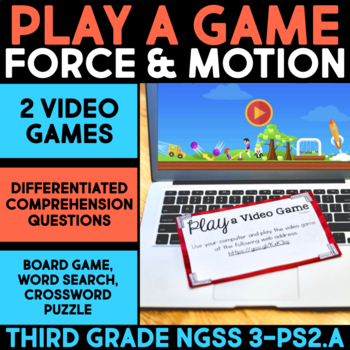 Play a Video Game about Surface Types & Friction - Science
