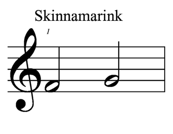 Play along - Skinnamarink