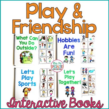 Play and Friendship Interactive Books Level 1