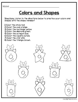 Play and Learn Language Units for Preschool: Christmas