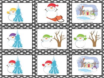 Play and Practice Listening:  Winter Themed Following Directions Activities