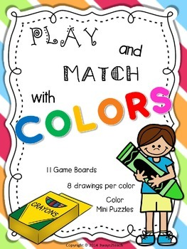 Play and match with colors