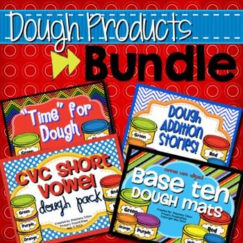 Hands On Dough Activities Bundle