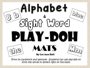 Play-doh Mats