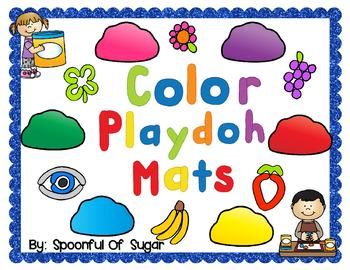 Play-doh Mats- Colors