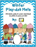 #MERRYMONDAY Play-doh Mats ~ Winter