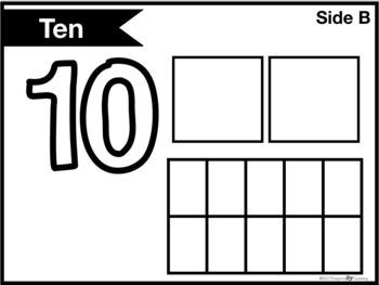Number Fluency Play-doh Mats