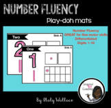 Number Fluency Play-doh Mats