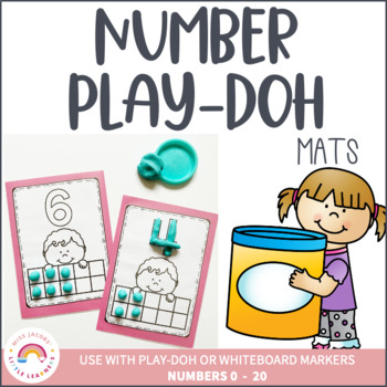 Play-doh Number Mats