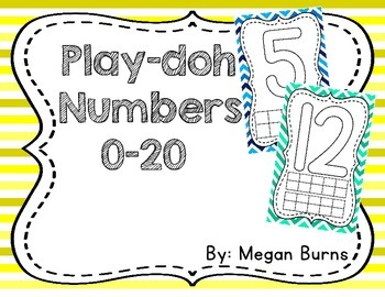Play-doh Numbers 0-20
