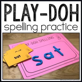 Spelling Activity: Play-doh Spelling FREEBIE