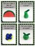 Play doh TASK ~ FRUIT make it CARDS - 12 cards FINE MOTOR
