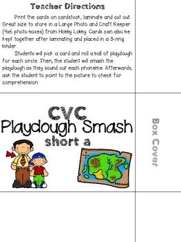 Play-dough CVC Smash