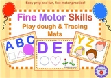 Play-dough Mats for Fine Motor Practice