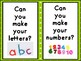 Play-dough Mats for Play Centers - Alphabet Numbers, Ten frames and Sight Words