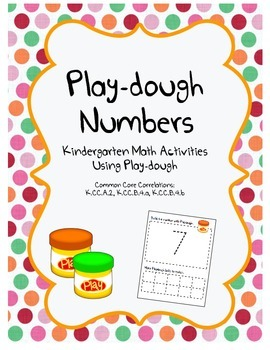 Play-dough Numbers