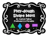 Play-dough Shape Mats